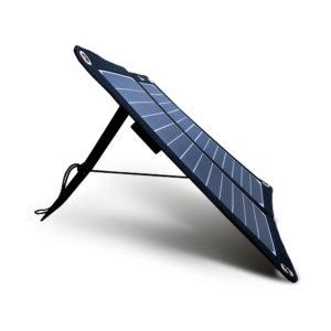 Mobisun 15W draagbaar lichtgewicht USB zonnepaneel sta