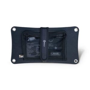 lichtgewicht zonnepaneel draagbaar USB zonnepaneel achterkant