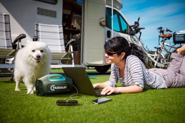 500W laptop powerbank portable solar generator