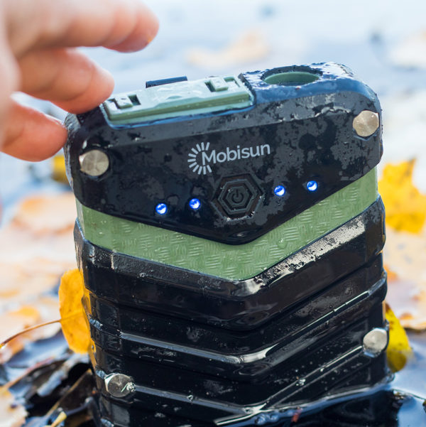 Waterdichte rugged outdoor powerbank