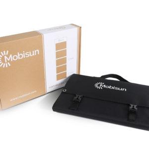 100W lichtgewicht draagbaar mobiel zonnepaneel Mobisun verpakking