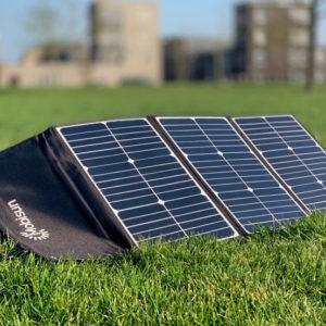 60W Mobisun draagbaar mobiel portable lichtgewicht zonnepaneel buiten