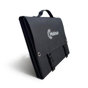 60W Mobisun draagbaar mobiel portable lichtgewicht zonnepaneel tas voorkant